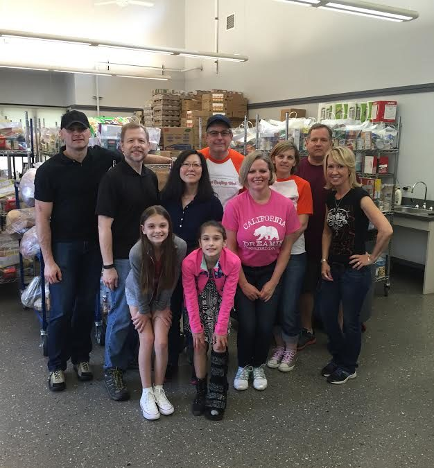 Attractive National Roofing Contractors Association(NRCA) Volunteers Help Out At The  Food Pantry
