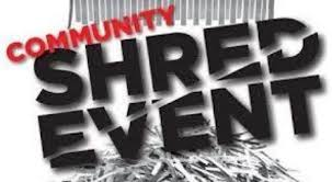 Shred Event May 20th 12:00 – 2:00