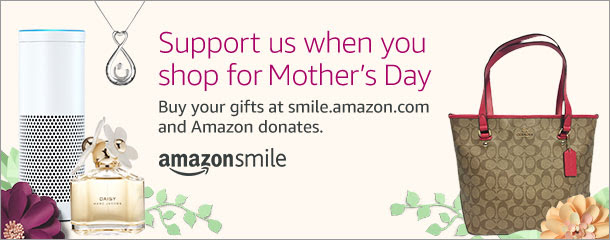 Shop AmazonSmile for Mother's Day and Support the Niles Township Food Pantry!