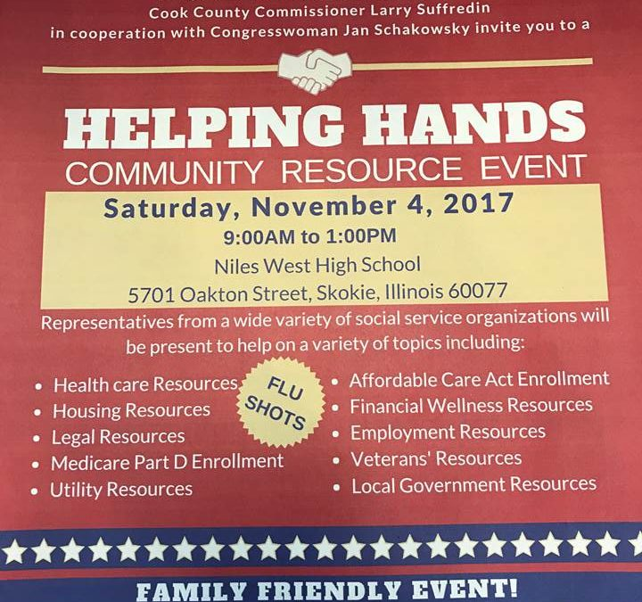 Helping Hands Community Resource Event