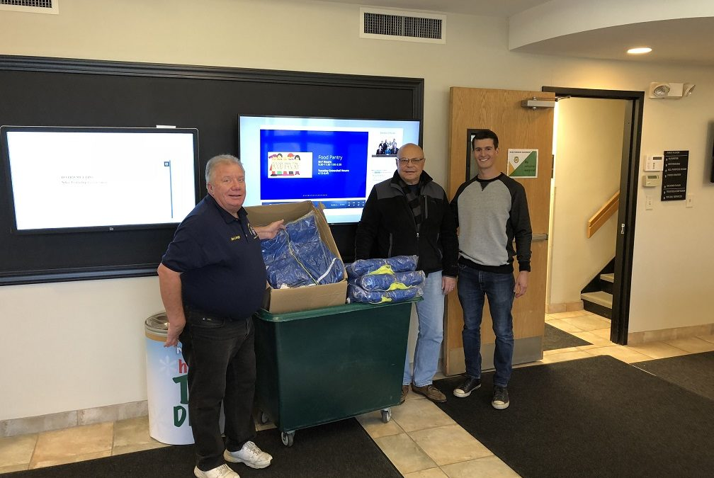 Knights of Columbus Donate Winter Coats to the Food Pantry