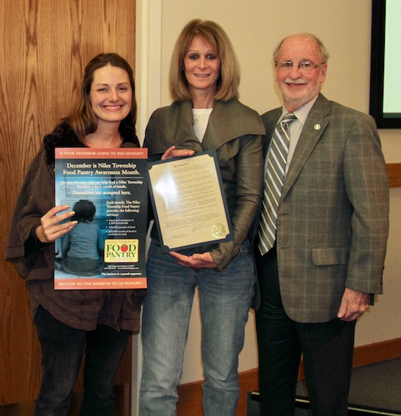 Skokie Proclaims December 'Food Pantry Awareness Month'