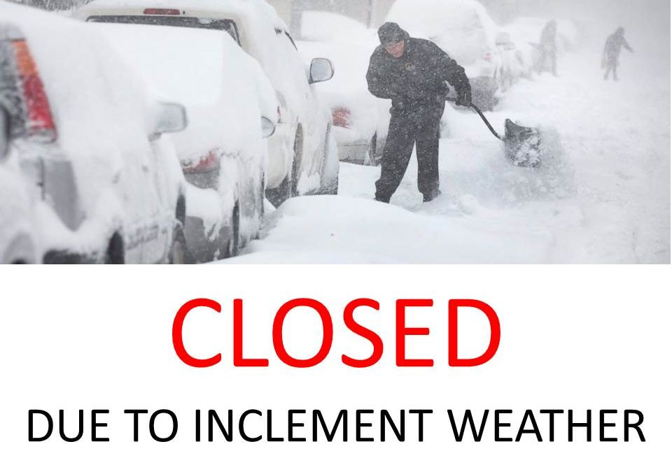 NILES TOWNSHIP WILL BE CLOSED FRIDAY, FEBRUARY 9TH DUE TO THE INCOMING SNOW STORM