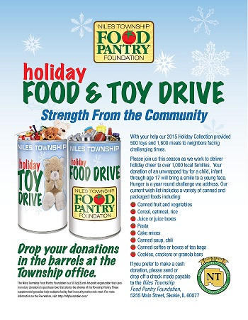 A Successful Holiday Food Amp Toy Drive Niles Township